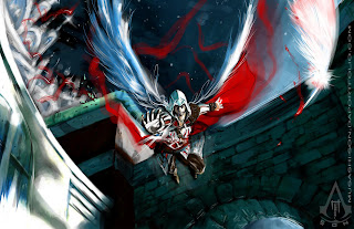 Assassins Creed Wings Feather Video Game HD Wallpaper Desktop PC Background