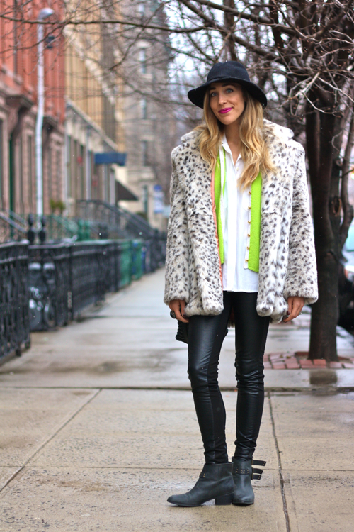 StyleAndPepperBlog.com : : Concrete Catwalk: Fluorescent Flurries