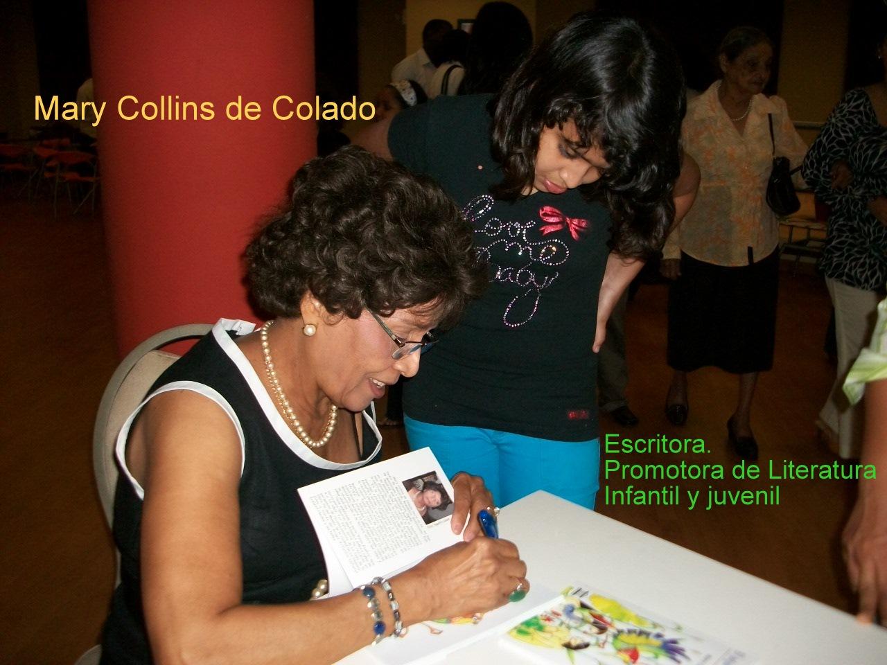 MARY COLLINS DE COLADO