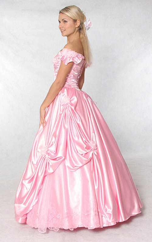 Pink Wedding Dresses Princess : Bridal style and wedding ideas pink dress