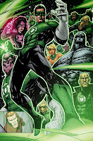 Hal Jordan seeks Guy's help to face Relic in Lights Out part 4
