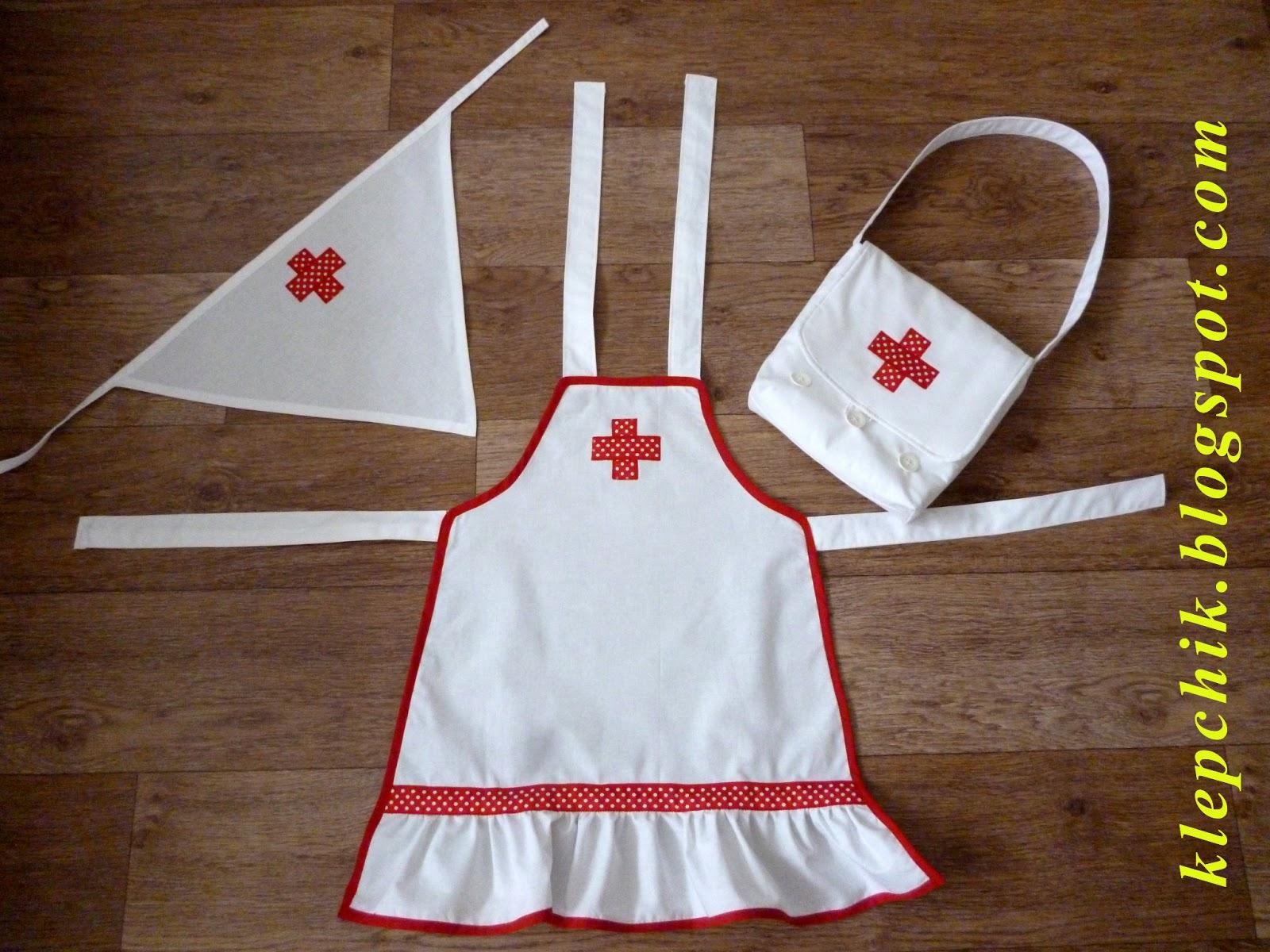 Сшить детский костюм медсестры своими руками 86