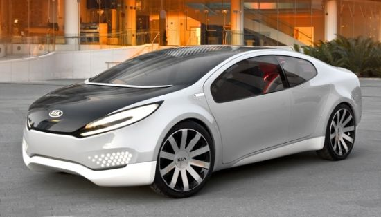 The Hybrid Concept Kia Ray-at the Chicago Auto Show