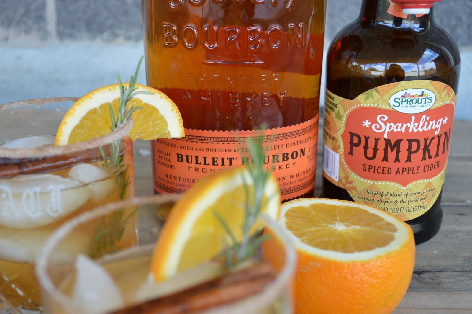 ... Dog It's a Food Blog: Sparkling Pumpkin Apple Cider Bourbon Cocktails
