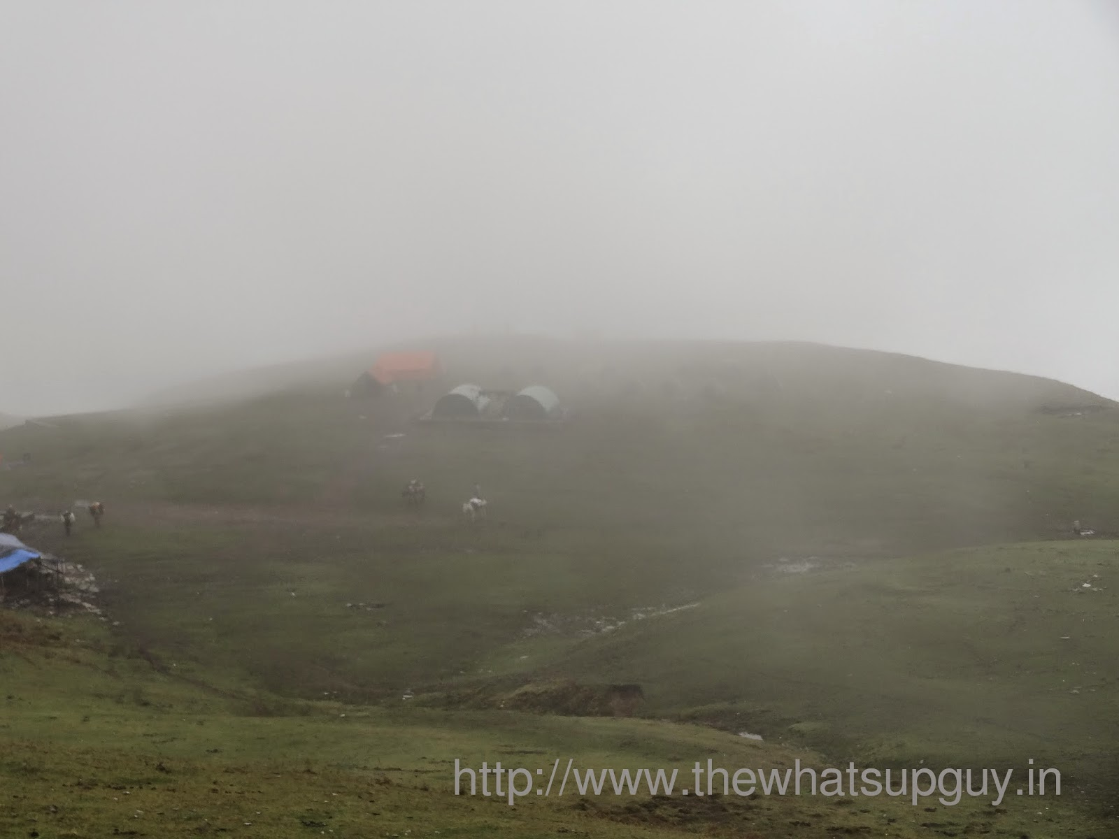 Fog Roopkund Trek With India Hikes Day 3
