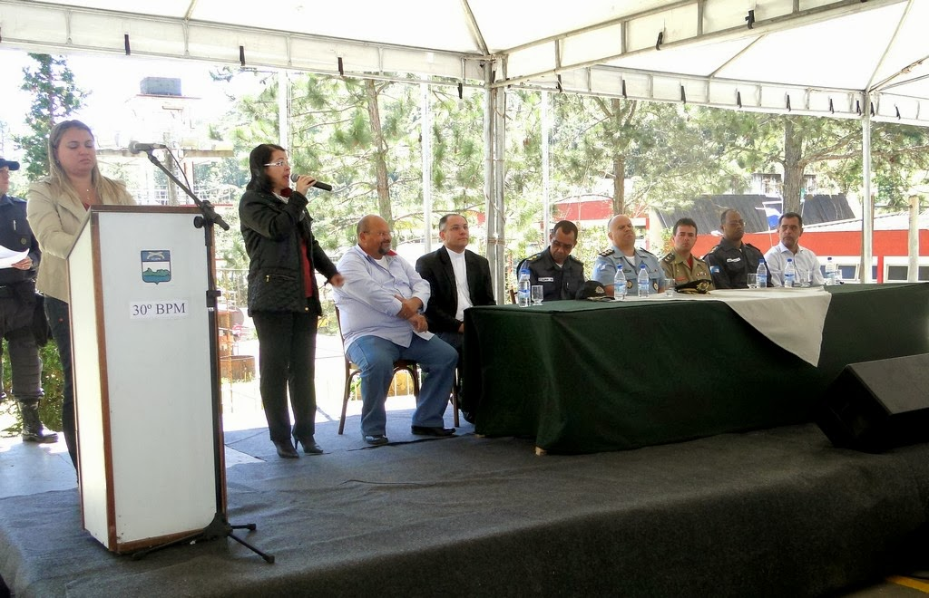 Solenidade de aniversário do 30º BPM reuniu autoridades e convidados