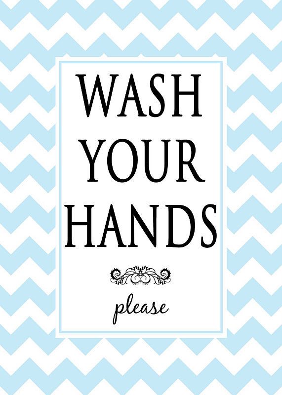 Exceptional image for free wash your hands signs printable