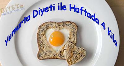 yumurta diyeti ile zayıflama,