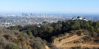 View south en route to Mt. Hollywood, Griffith Park