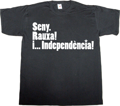 catalan, catalonia, independence countdown 11 septembre t-shirt ephemeral-t-shirts