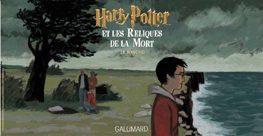 Harry Potter 7 Couverture entière