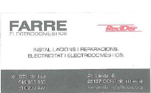 Farre Electrodomèstics
