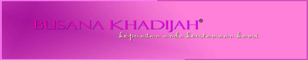 Busana Khadijah