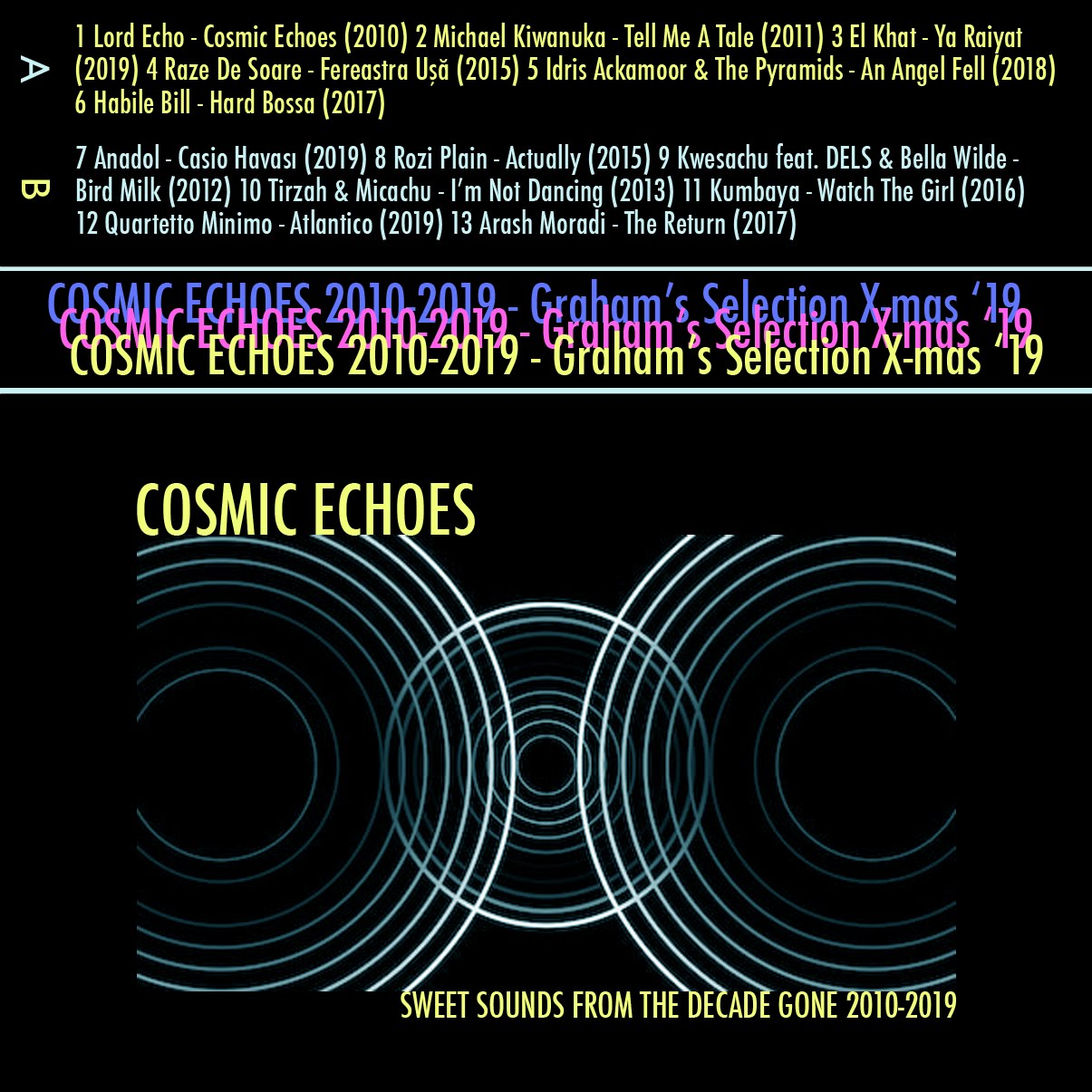 GRHM#16 - COSMIC ECHOES