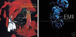 YOSHIKI X Japan Eternal Melody I + II Jpop Jrcok 4 CD