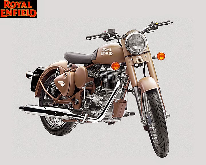 Royal Enfield Classic Desert Storm 500 Front