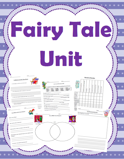 http://www.teacherspayteachers.com/Product/Fairy-Tale-Unit-Language-Arts-Social-Studies-and-Drama-Activities-955120