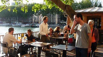 restaurant canal de l'ourcq