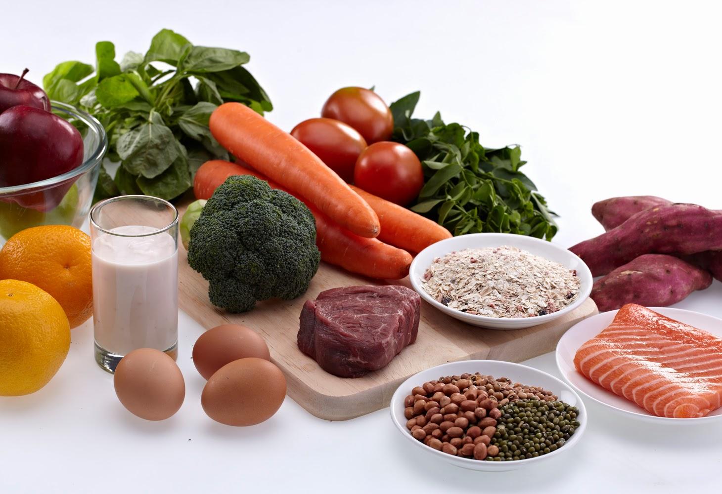 Mencari makanan sehat