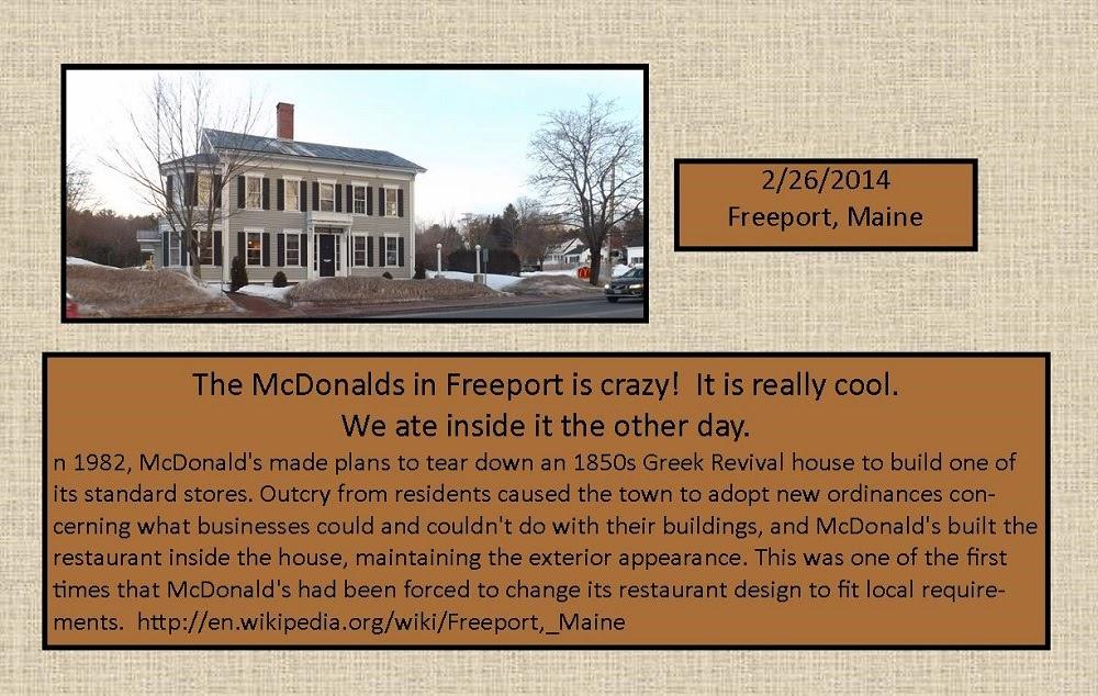 February 26, 2014 - McDonalds