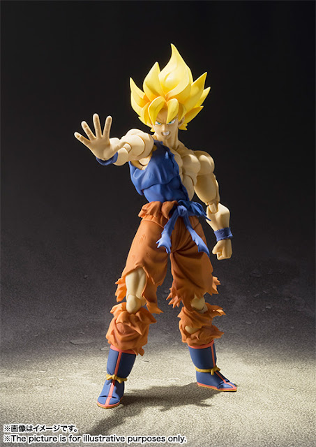 super saiyan son goku dragon ball z anime series