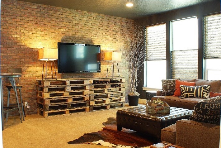 Paint Colors For Living Room With Brick Wall Black Furniture