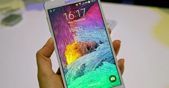 Note 4 là smartphone có màn hình tốt nhất
