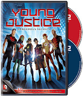 Capa de Young Justice: Dangerous Secrets (Season One, Part Two)