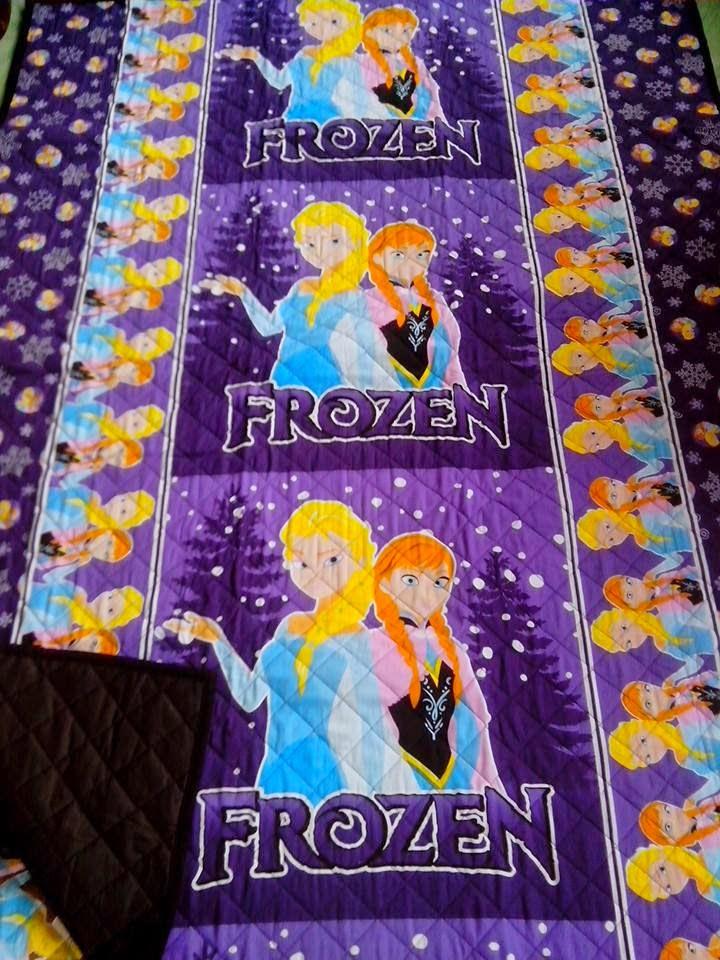 grosir tikar quilting frozen