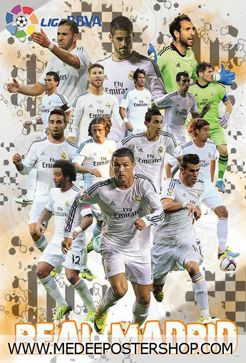 Real Madrid Football Players 2014