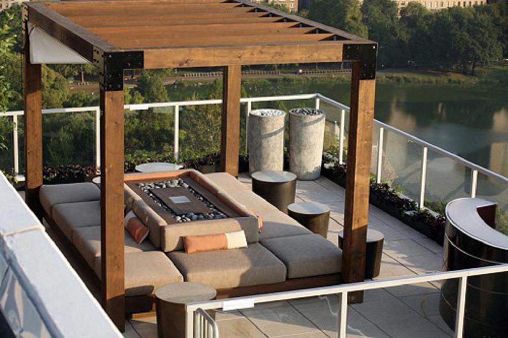 44 Buenas Ideas De Diseño de Terraza - Decoración del hogar y el diseño