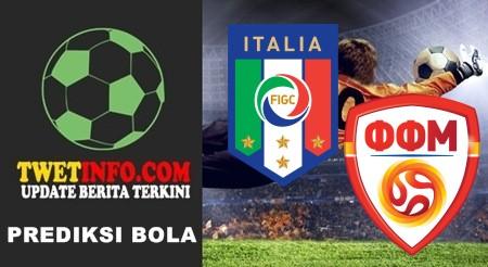 Prediksi Italy U17 vs FYR Macedonia U17