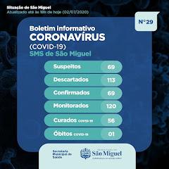 Boletim Epidemiológico 29 - São Miguel - RN