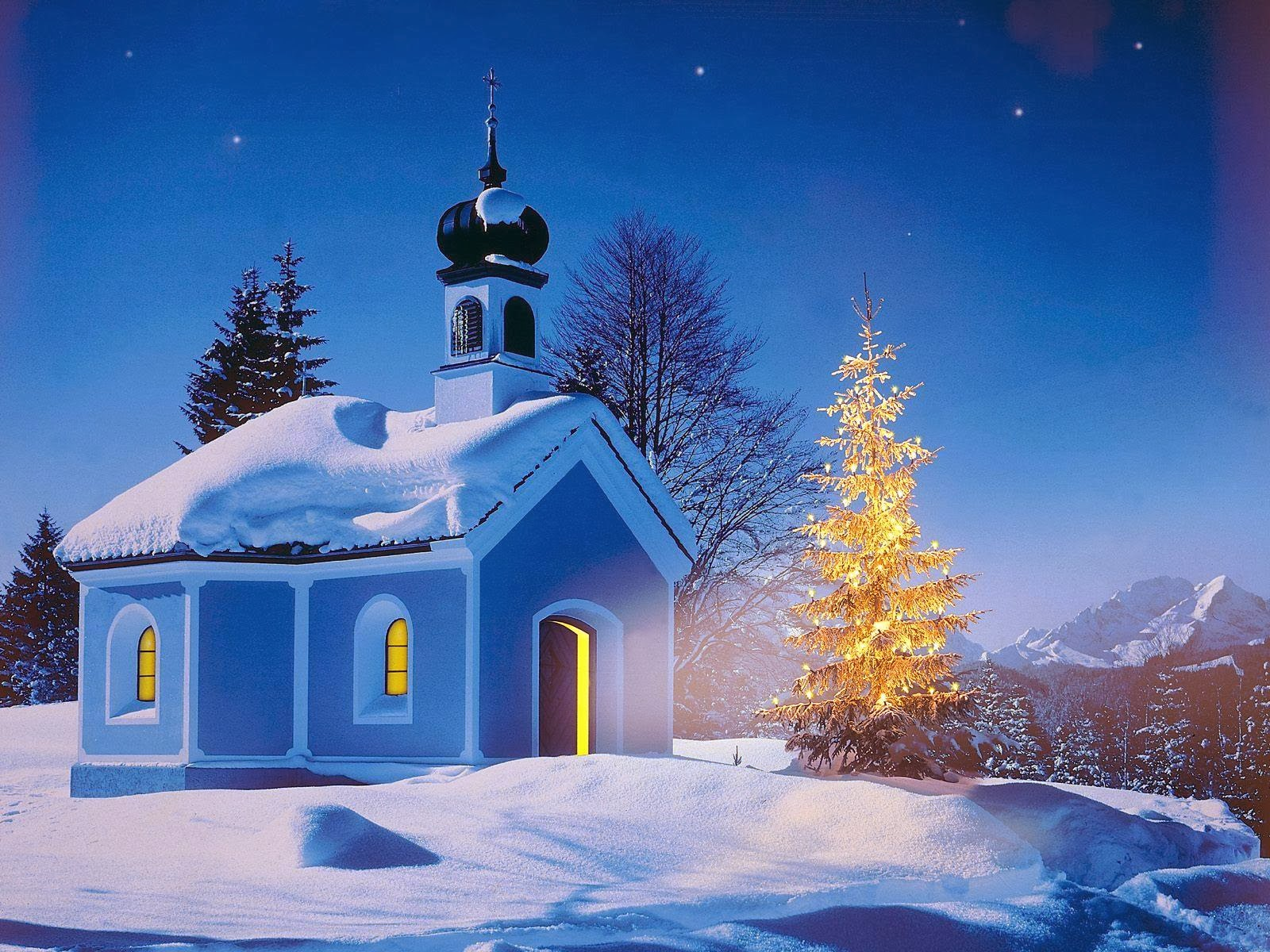 Winter Snow House Christmas HD Wallpapers | Christmas HD Wallpapers