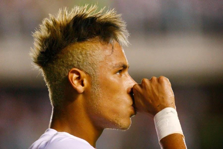 neymar hairstyle hd wallpaper 2014