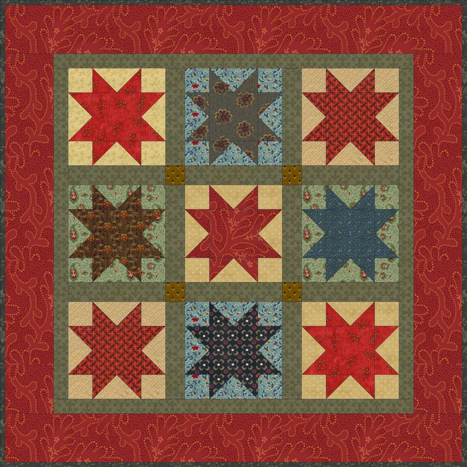 Christmas Star Quilt