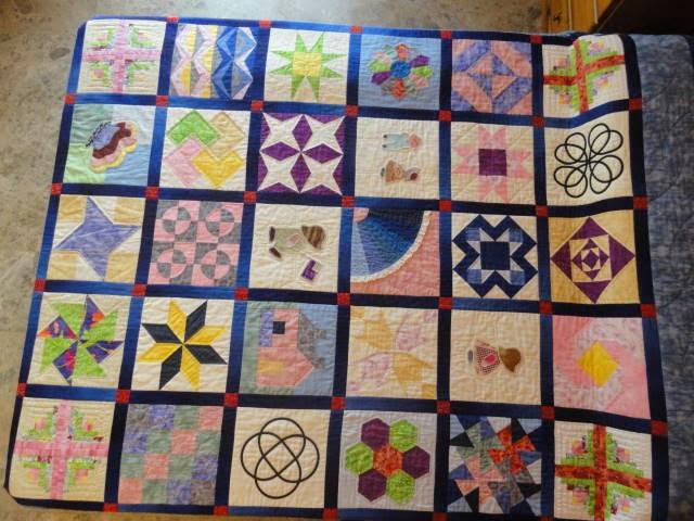 Sampler patchwork patrones imagui - Patrones colchas patchwork ...