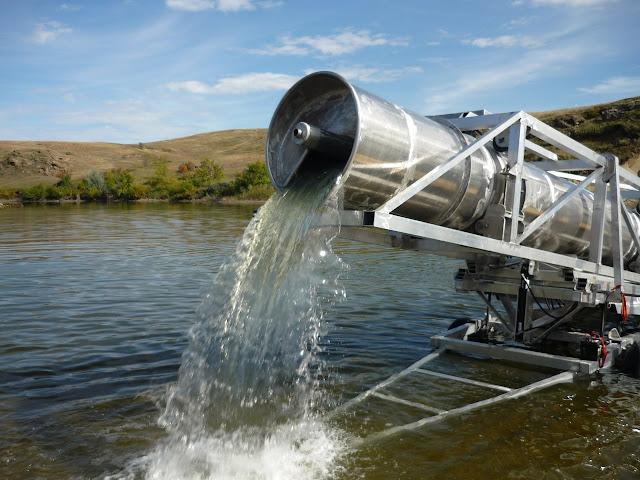Auger Water Pump