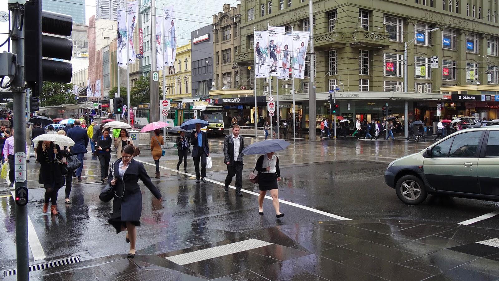Rain date in Melbourne