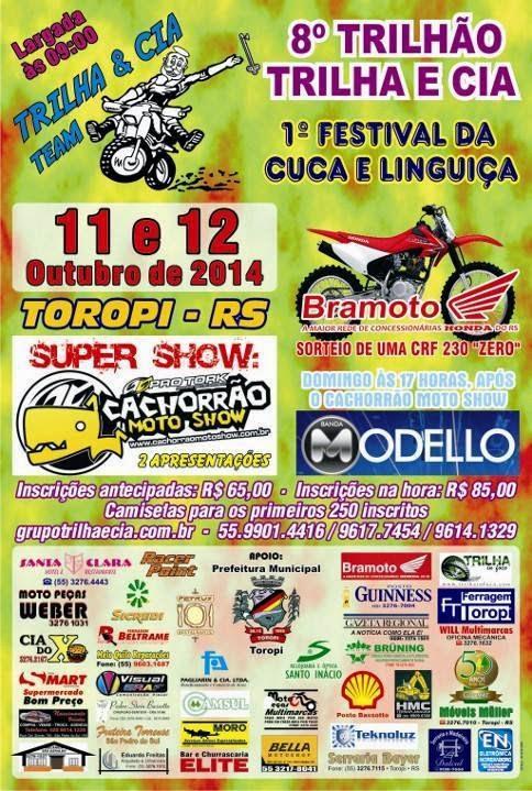 São Pedro (TOROPI)-RS, 11 e 12 Out