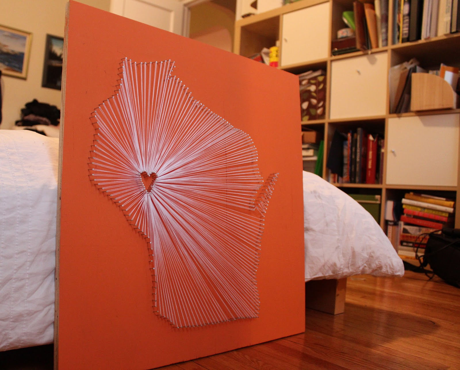 Beau Baby: Show Your State Some Love With DIY String Art