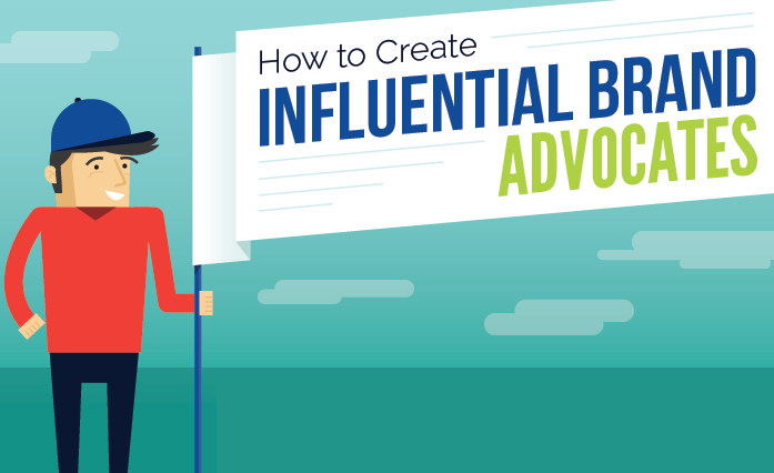 How to Create Influential Brand Advocates - #infographic