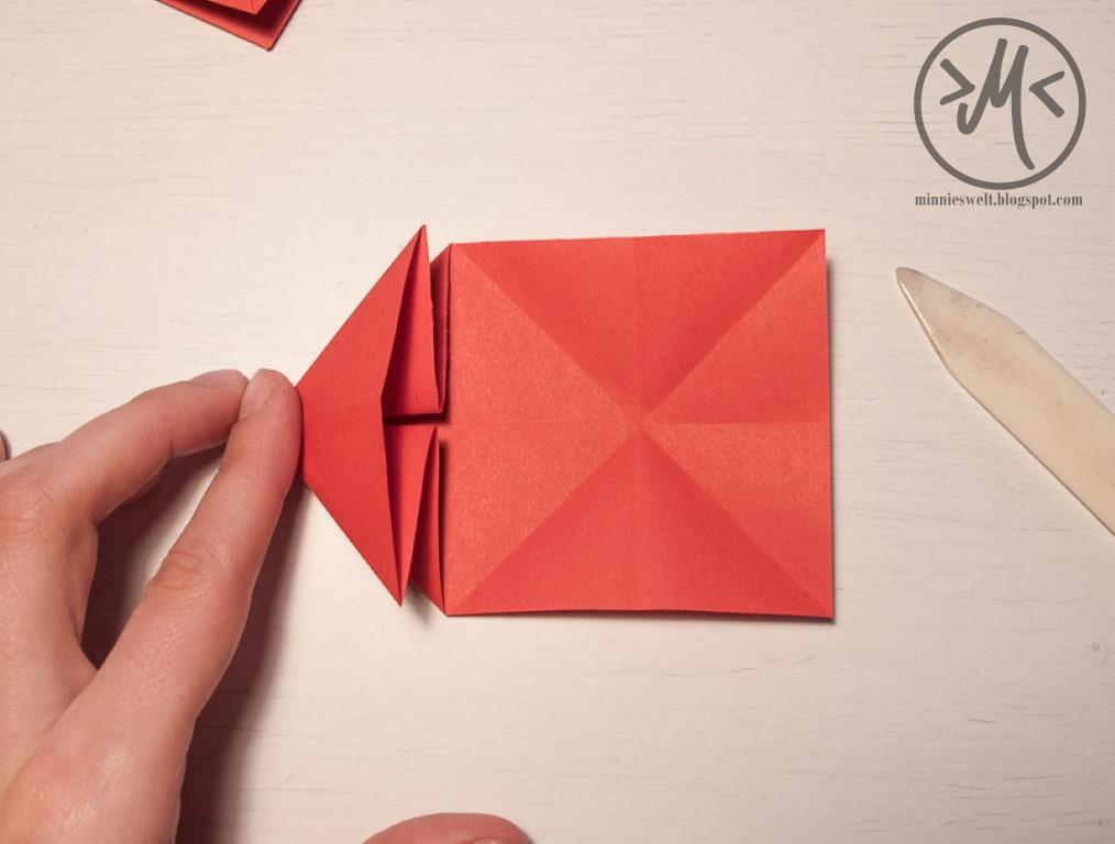 minnies welt kreatives diy chaos origami herz zum muttertag. Black Bedroom Furniture Sets. Home Design Ideas