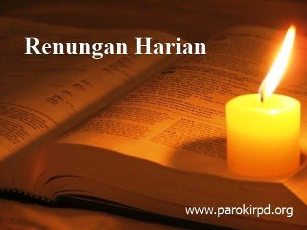 RENUNGAN HARIAN, 26 Agustus – 1 September 2012