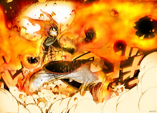 Natsu Dragneel Anime Fire Dragon Slayer HD Wallpaper Desktop PC Background