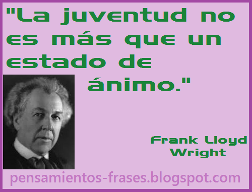 frases de Frank Lloyd Wright