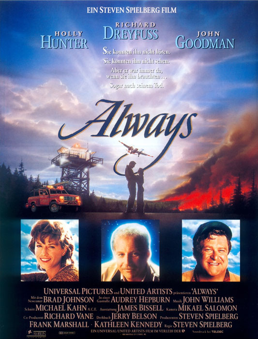 "FILMOGRAPHY:          ""Always"" (1989)"