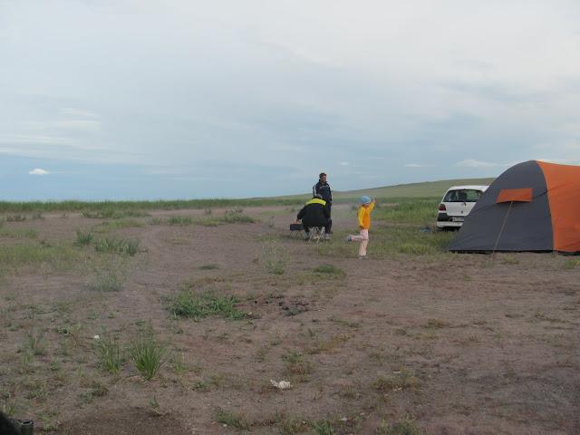 палатка пригодится везде