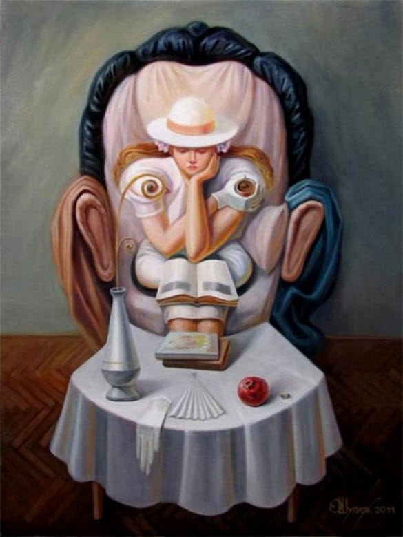 Oleg Shuplyak 1967 | Optical illusionist painter