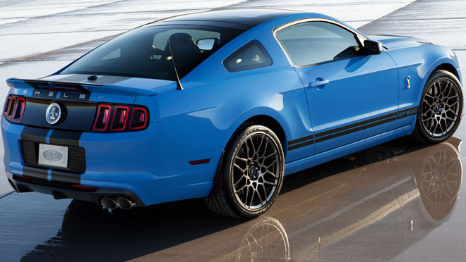 2013 Ford Mustang GT500 Shelby Cobra